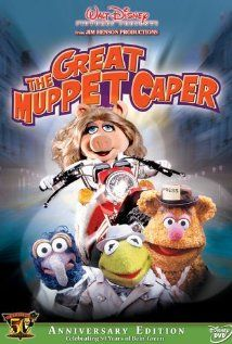 Kermit, Gonzo and Fozzie are reporters who travel to Britain to interview a rich victim of jewel thieves and help her along with her secretary, Miss Piggy.