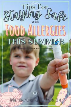 Summer can be tons of fun, but it comes with some unique challenges for food allergy families. Here are a few tips for staying safe with food allergies this summer!