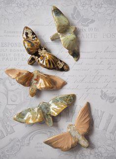 Ceramic Jewelry, Ceramic Beads, Ceramic Clay, Clay Jewelry, Ceramic Pottery, Pottery Art, Ceramic Animals, Clay Animals, Diy Clay