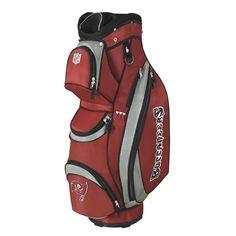 Tampa Bay Buccaneers NFL Cart Bag by Wilson.  Buy it @ ReadyGolf.com