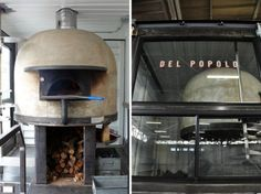 Jon Darsky converted a shipping container into an awesome mobile Neapolitan pizza joint called Del Popolo! Wood Fired Oven, Wood Fired Pizza, Pizza Food Truck, Shipping Container Buildings, Container Conversions, Pizza Joint, Kitchen Aid Mixer, Pizza Recipes, Popcorn Maker