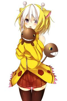 Human version gijinka pokemon, girafarig