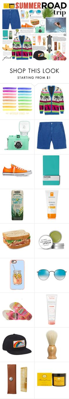 """""""summer is the anthem of success"""" by douglasmacedo ❤ liked on Polyvore featuring Yves Saint Laurent, Massimo Alba, Converse, Seletti, La Roche-Posay, Aroma, Fig+Yarrow, Casetify, Ray-Ban and Havaianas"""