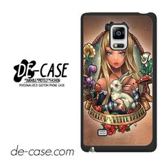 Alice And Wonderland Pin Up DEAL-485 Samsung Phonecase Cover For Samsung Galaxy Note Edge