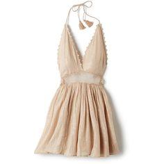 City of Stars Halter Dress (1 105 SEK) ❤ liked on Polyvore featuring  dresses 4f1cf15246290