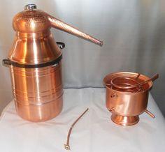 8 Gallon Copper Moonshine Still Wine Making Supplies, Wine Making Kits, Copper Moonshine Still, Distilling Alcohol, Wine Making Equipment, Wine Making Process, Copper Pot Still, Wine And Spirits