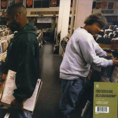 DJ Shadow - Entroducing, the best Industrial Hip Hop Album ever. Dj Shadow, Cool Album Covers, Music Album Covers, Music Albums, The Velvet Underground, Storm Thorgerson, Trevor Jackson, Peter Saville, Straight Outta Compton