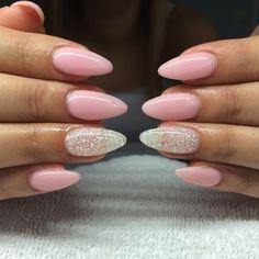 "399 Likes, 9 Comments - ⠀⠀⠀⠀⠀⠀⠀⠀⠀⠀⠀⠀Gelnails by Natha (@gelnailsbynatha) on Instagram: ""#nail#nails#nailart#nailfollowers#nailinsta#instanails#instafollow#instafashion#instafollowers#instagirls#girl#gel#gelart#nailaddict#gelnails#follow#fashion#followers#fashioninsta#fashionnails#natural#sculpture#pink#diamond#ballerina#silver#lightelegance#nailaddicts#babypink…"""