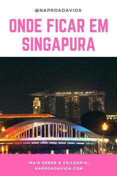 Dicas de onde ficar em Singapura e aproveitar a diversidade que a cidade-estado tem a oferecer. Veja os melhores hotéis e hostels em diferentes regiões.