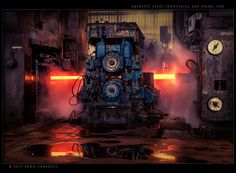 Might of a Man by Beno Saradzic, via 500px I love being a millwrite and getting to tear down these big ass machines 65!! A8m holla