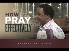 Get ready for a revelation from Heaven will revolutionize your prayer life! It's difficult to convey with mere words the powerful, penetrating truths contain. T.b Joshua, Youtube, No Way, I Can, Things I Want, Prayers, Change, Sayings, Truths