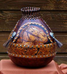 Sylvia L. Gaines gourds Member Texas Gourd Society