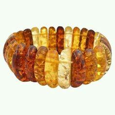 Bakelite, celluloid stretch vintage bracelet
