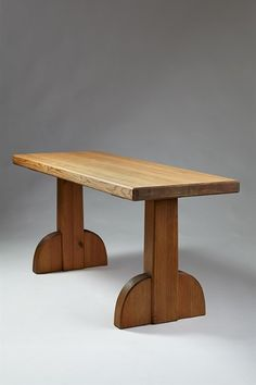 Table Sandhamn designed by Axel Einar Hjorth for NK, Sweden. 1932.