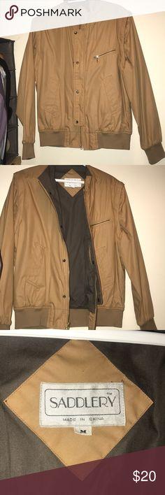 Men Horseback riding jacket (Medium) Only worn once, perfect for spring, light and comfortable jacket. Tan SADDLERY Jackets & Coats Bomber & Varsity