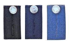 Flexible Button Extender Lightweight Extension Pants Pant Short Skirt Jeans Q