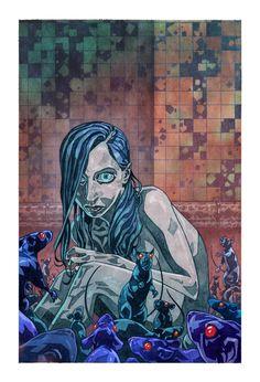 Veil#1 cover (Dark Horse Comics). Story: Greg Rucka