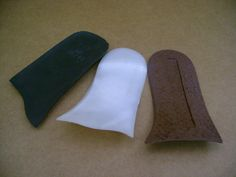 Sottotalloni in plastica per calzature