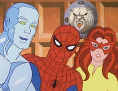 Spider-Man and his Amazing friends...still on Marvel Mash-Ups