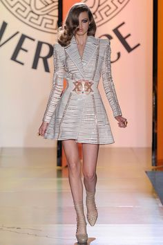 Lindsey Wixson for Versace Haute Couture Fall/Winter 2012