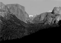 Tunnel View - Wista 45DX - Ilford FP4