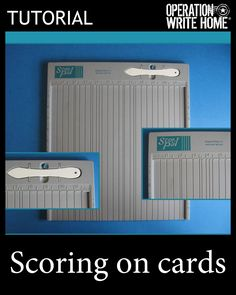 Scoring on cards #tutorial
