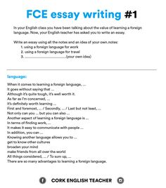 essay structure sheet