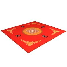 YMI Mahjong / Card / Game Table Cover - Red