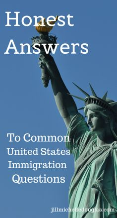 There's a lot of midinformation flying around out there. We all have opinions on immigration. But how well do we know how the US immigration system works in the century? Here are honest (and verifiable) answers to common US immigration questions. Residency Application, Immigrant Visa, Catholic Bishops, Good Citizen, Interview Questions And Answers, Immigration Policy, Work Visa, Adult Children, Social Justice