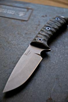Jeremy Robertson Operator // www.blinkknives.com