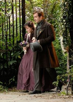 Amy Dorrit & Arthur Clennam from Little Dorrit BBC  (btw Arthur Clennam is much better than Mr Darcy, just sayin!)