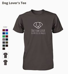 Dog Lover's Tee - Now Available in the ALEXINHWOOD Store! https://represent.com/dogloverstees