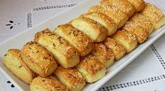 Ezt a sajtos rúd fél óra alatt elkészül! - Egy az Egyben Homemade Crackers, Savory Pastry, Salty Snacks, Hungarian Recipes, Bakery, Food Porn, Food And Drink, Healthy Eating, Appetizers