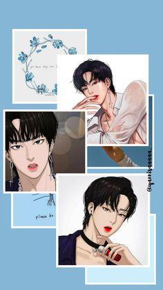 Kpop Backgrounds, Cute Wallpaper Backgrounds, Tumblr Wallpaper, Cute Wallpapers, Anime Art Girl, Anime Guys, Pink Wallpaper Iphone, Wallpaper Lockscreen, Diy Bracelets Patterns