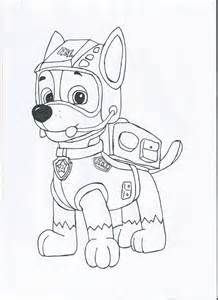 Paw Patrol Everest Coloring Pages To Print