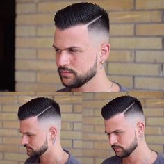 Hairstyles spiky 35 Best Haircuts and Hairstyles For Balding Men Guide) Balding Haircuts - High Skin Fade with Spiky Come Over de cabelo de cabelo High Skin Fade, Cool Haircuts, Haircuts For Men, Short Haircuts, Hair And Beard Styles, Short Hair Styles, Bald Haircut, Haircut Men, Black Haircut Styles