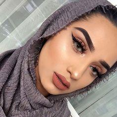 Image in Moda/Fashion collection by Anna Clara Santos Fraccaro Makeup Inspo, Makeup Inspiration, Beauty Makeup, Eye Makeup, Hair Makeup, Makeup Art, Bridal Makeup, Wedding Makeup, Middle Eastern Makeup