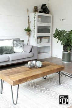 Quip & Co www.quip-co. Steel Furniture, Outdoor Furniture, Outdoor Decor, Furniture Makeover, Entryway Bench, Living Room, Table, House, Home Decor
