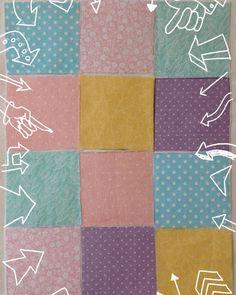 A  jó kikapcsolódás titka, a foltvarrás: Babatakaró fedlap-négyzetek