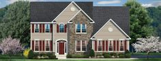 Ravena Ryan Home | Waverly Meadows Swedesboro NJ Ryan Homes - Ryvenco New Homes