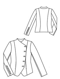 Crossover Blazer 06/2012 Technical Drawing
