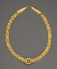 Romano-Egyptian gold snake ring, 1st century BC.