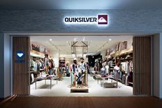 WOODEN STORE INTERIORS! Quicksilver store by Specialnormal, Tokyo store design