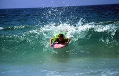 Boogie boarding is the only sport I'm pretty good at haha .