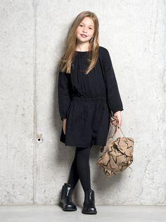 That black dress with the Chelsea boots! <3 #ELIASANDGRACEAW14