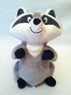 "Disney Store Pocahonta's Pet MEEKO Raccoon 9"" Stuffed Animal  I NEED IT!!!!"