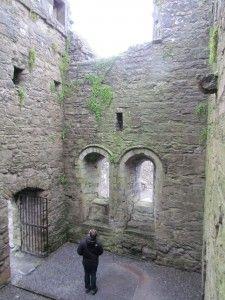 Cong Abbey in Ireland - so beautiful!  (photo credit - Mickela Mallozzi ©2011)