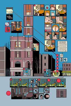 Building stories - Chris Ware -Griffioen Grafiek