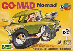 Dave Deal's Go-Mad Nomad® Plastic Model Kit FROM REVELL #85-4310