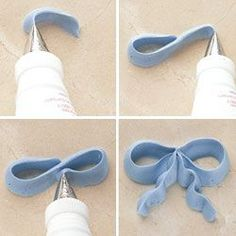 How to make icing bows